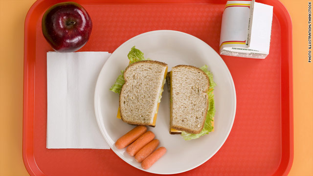 Fit Friday: Cafeteria cams measure kids' calories