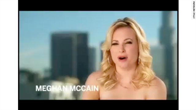 Meghan McCain takes it off