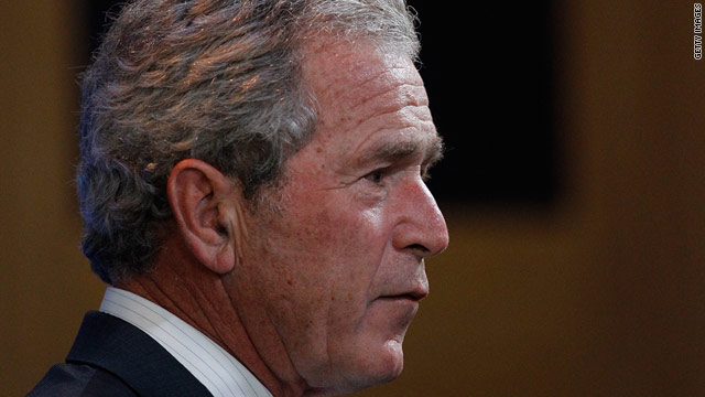 Bush breaks silence on bin Laden