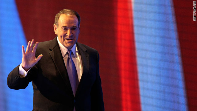 Huckabee to make 2012 announcement