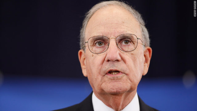George Mitchell resigns as Middle East envoy