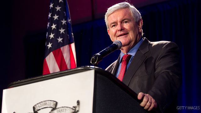 Predicting a Gingrich administration