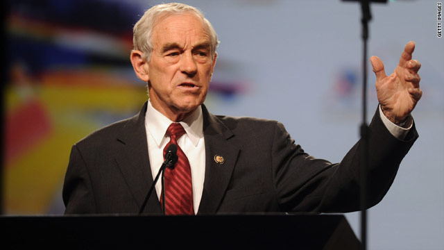 Rep. Ron Paul announces candidacy for president