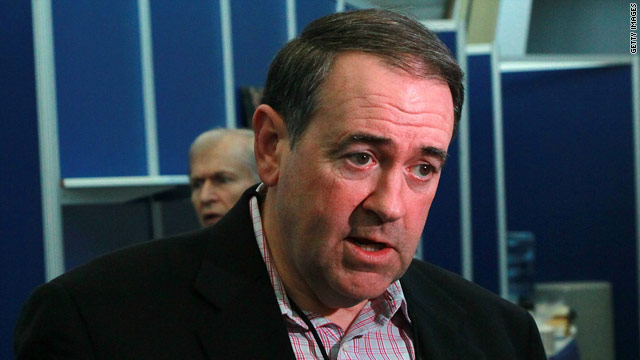 Huckabee announces he will not seek presidency