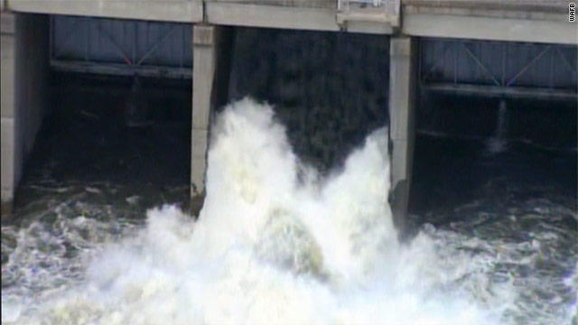 Key Louisiana spillway opened
