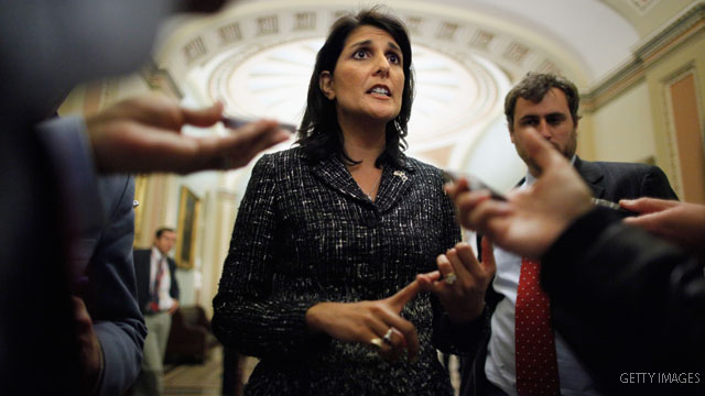Haley robocalls South Carolina touting Romney