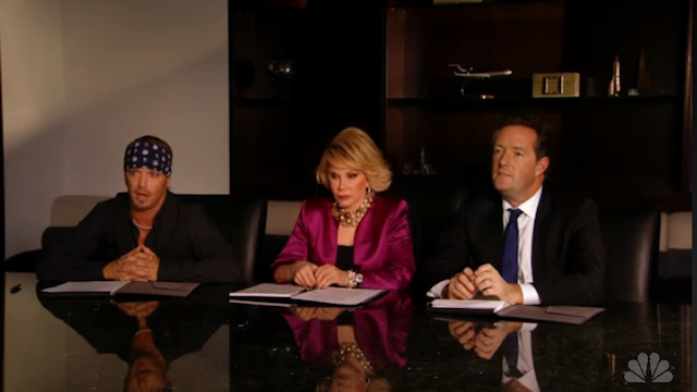 "Piers Morgan grills the ""Celebrity Apprentice"" final four"