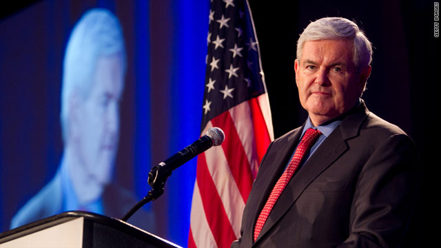 Gingrich separates himself from GOP on Medicare?