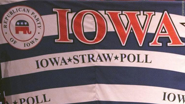 Iowa GOP outlines rules for Ames Straw Poll