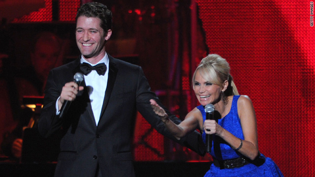 Kristin Chenoweth on why Matthew Morrison makes her smile