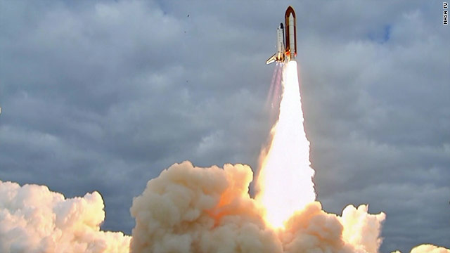 Space Shuttle Endeavour lifts off for final mission