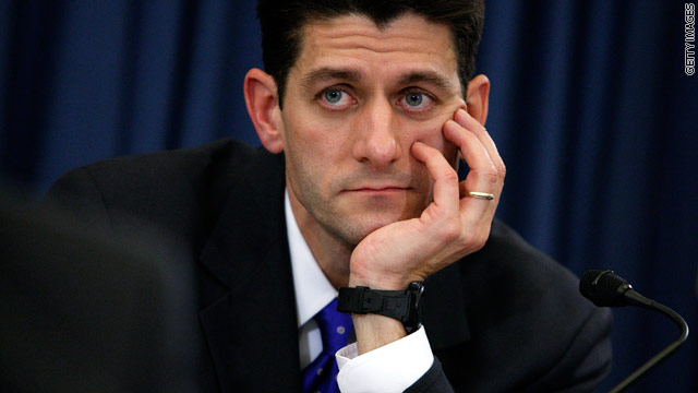 CNN Poll: Majority gives thumbs down to Ryan plan