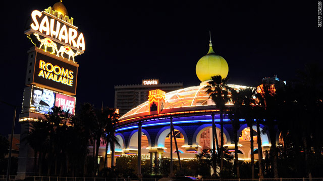 Las Vegas' Sahara Hotel and Casino closing after more than 58 years