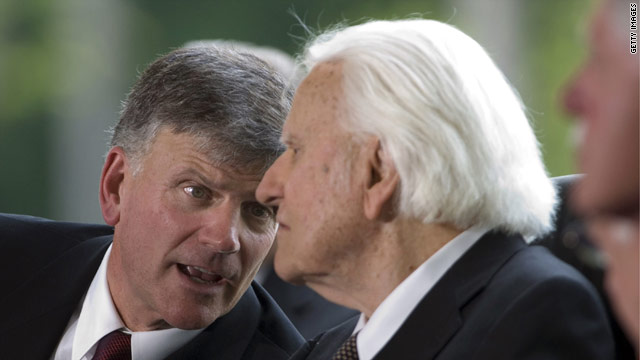 My Take: Franklin Graham is embarrassing his father
