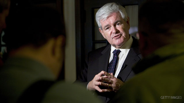 Borger: Gingrich inspires another GOP revolt - against himself