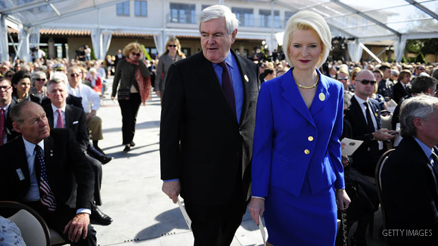 Gingrich carried six-figure revolving credit with Tiffany's