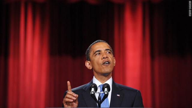 President Obama's high risk, high reward speech