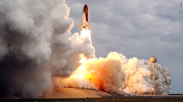 FOTO: El último lanzamiento del Endeavour