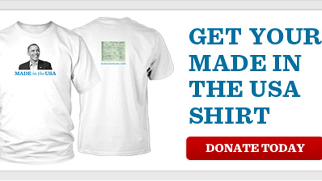 Who says birthers aren't still a campaign issue? Buy the t-shirt