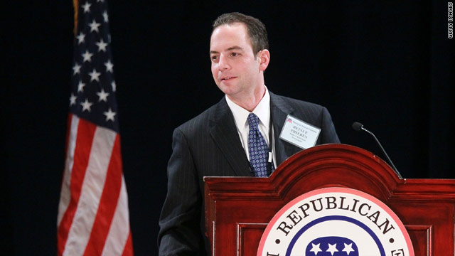 Priebus travels west for GOP review