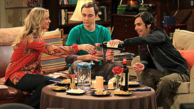 'Big Bang Theory': Moving in, breaking up and a one night stand