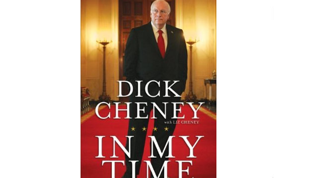 Cheney book cover unveiled