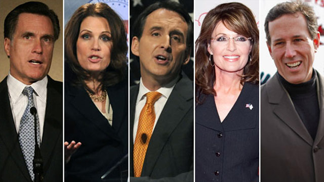 GOP leaders restless about 2012 candidates, but ready to take on Obama