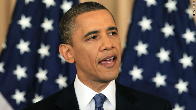 Live blog of Obama's Middle East address