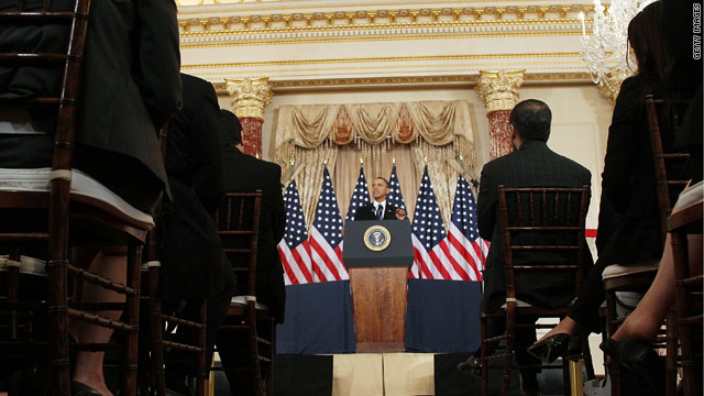Obama announces 'new chapter in American diplomacy'