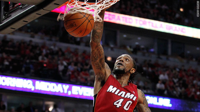 SI.com: Miami heats up against the Bulls to tie series