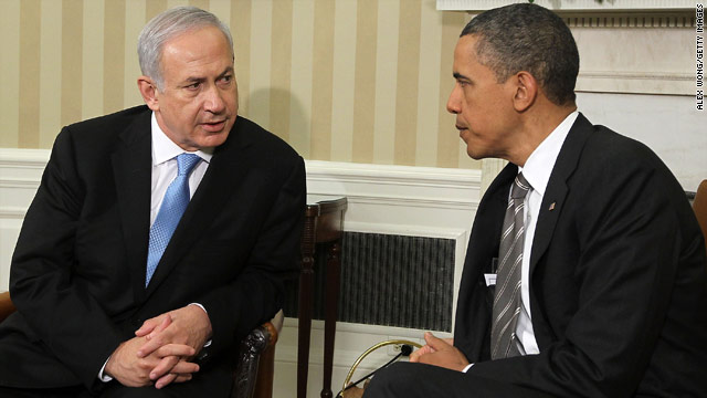 Netanyahu to Obama: No return to 1967 lines