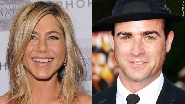 Jennifer Aniston's not dating Justin Theroux