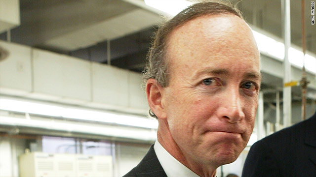 Mitch Daniels gets 16 stitches following workout accident