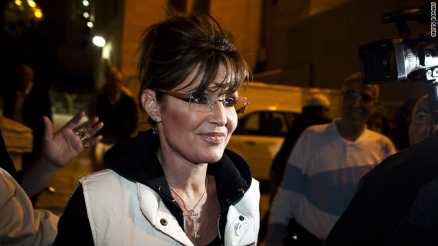 Sarah Palin has the 'fire in my belly' for prez run