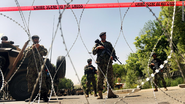 Suicide bombing kills 6 at Afghanistan hospital, officials say