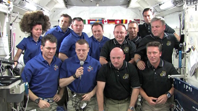 Pope speaks with crew on space station