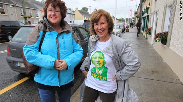 Obama busca sus raíces en Irlanda