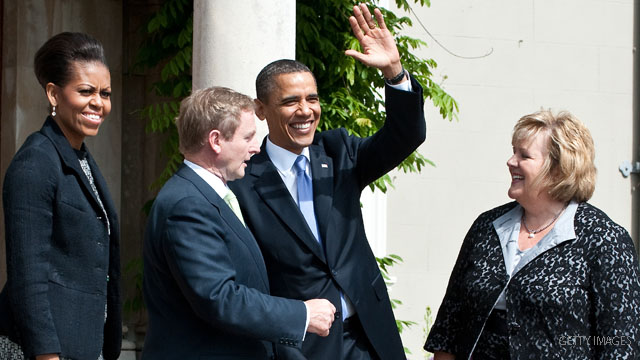 Obama arrives in Ireland