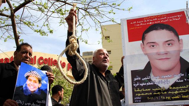 Egipto condena a muerte a un policía por asesinar a 20 manifestantes
