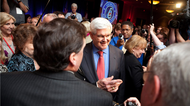 Gingrich attempts to turn the tables