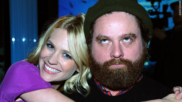 Zach Galifianakis to January Jones: 'Get over yourself'