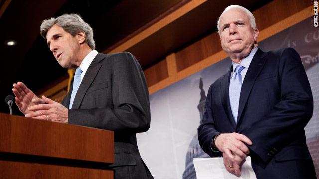 Senators introduce first bipartisan resolution on Libya mission