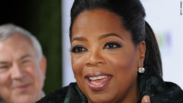 Oprah's inspiration stretches around the world
