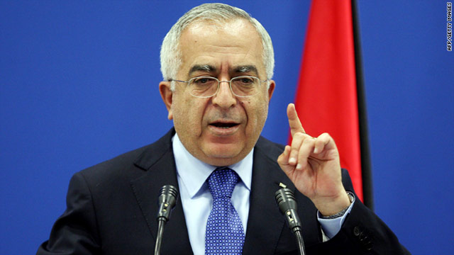Palestinian prime minister suffers heart attack in U.S.