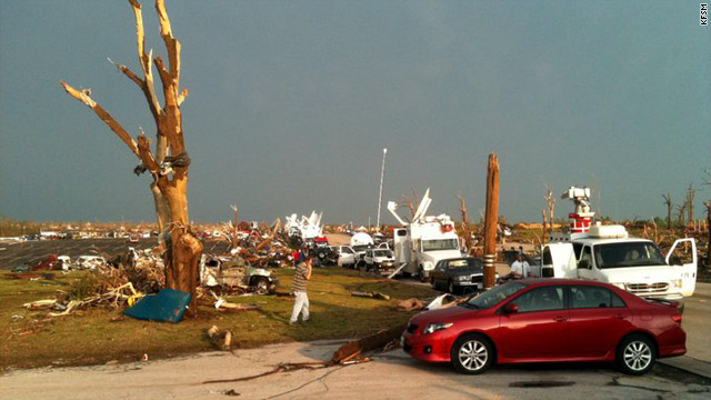 In Joplin, Missouri, 'telephone poles snapped like match sticks'