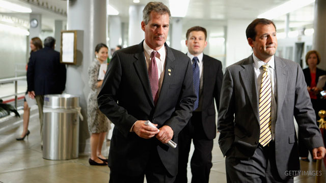 Scott Brown says no to Ryan's Medicare plan