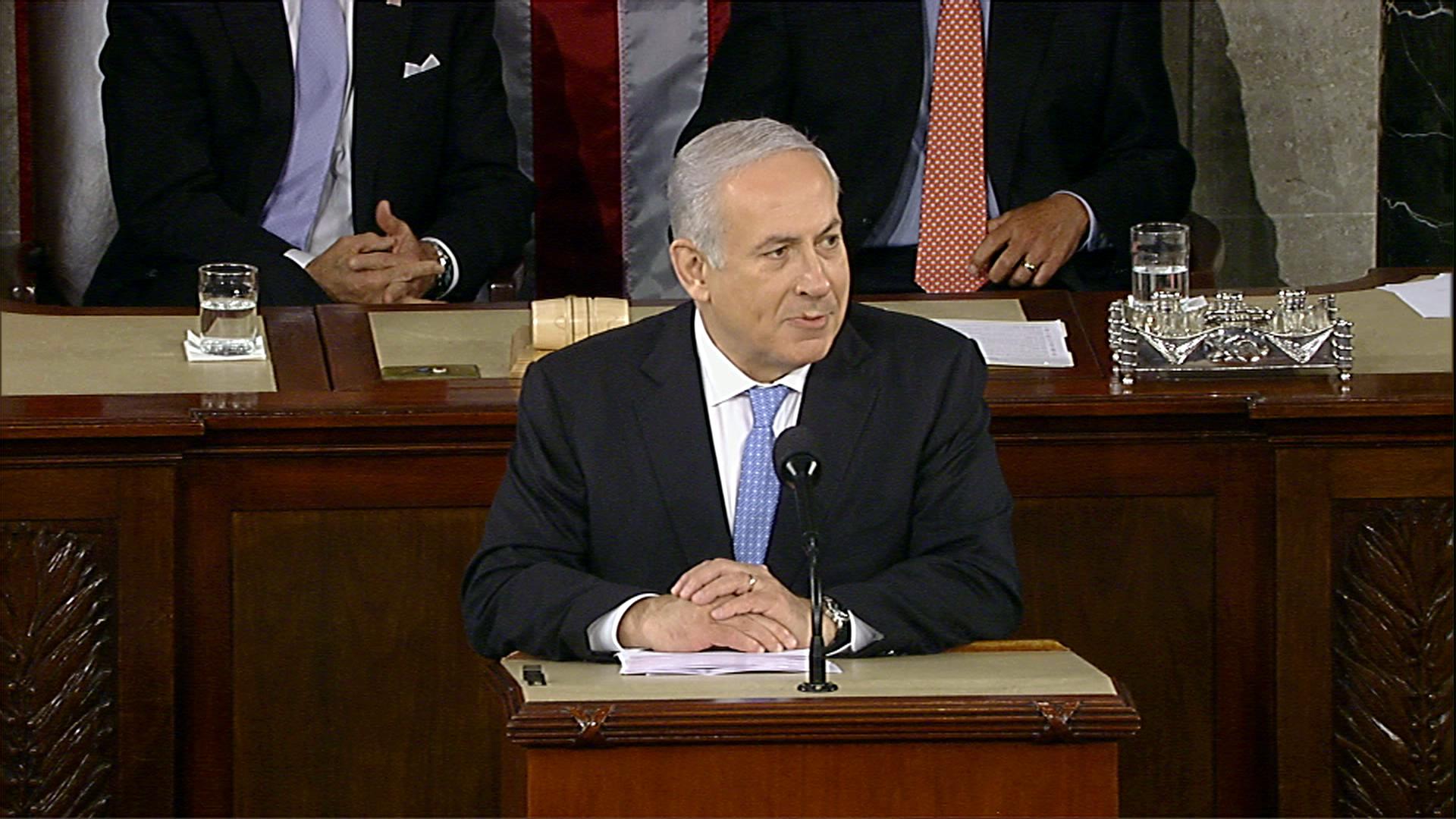 Netanyahu pone sus condiciones para un acuerdo de paz con los palestinos
