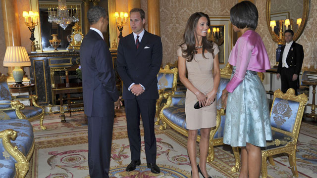 PHOTO: First couple with Catherine and William