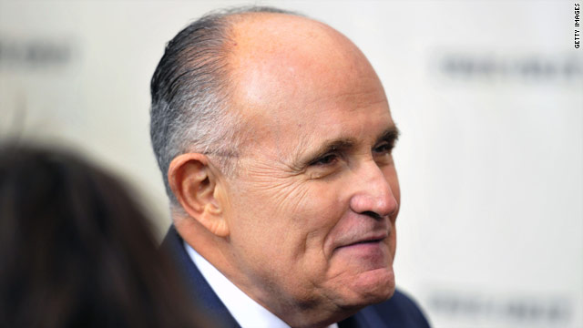 NY Congressman hints at Giuliani '12 W.H. run