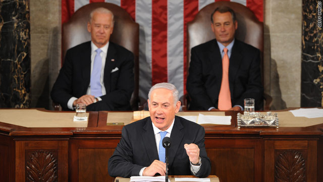 Disturbance in House chamber during Netanyahu's speech